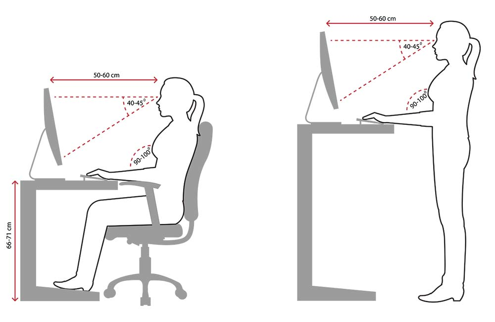 Ergonomic seating plan